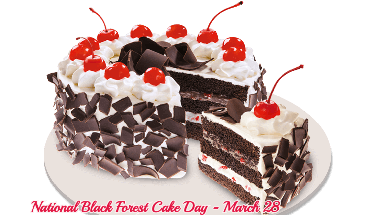 National Black Forest Cake Day – March 28, 2021