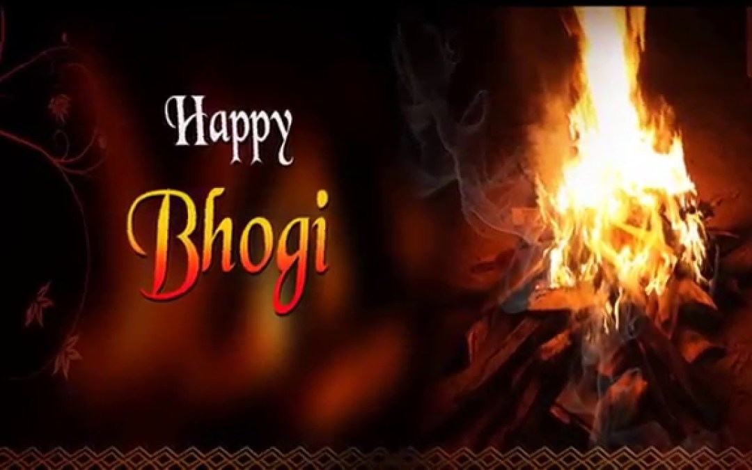 Happy Bhogi – January 14, 2019