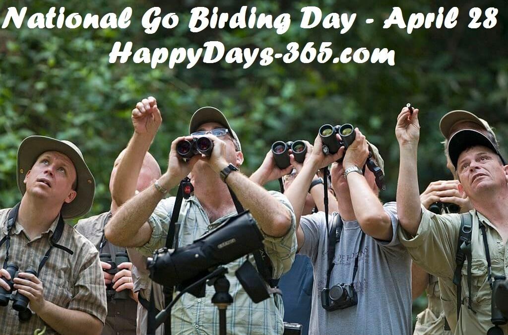 National Go Birding Day – April 28, 2018