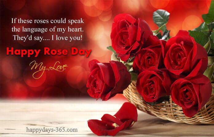 Happy Rose Day – February 7, 2020