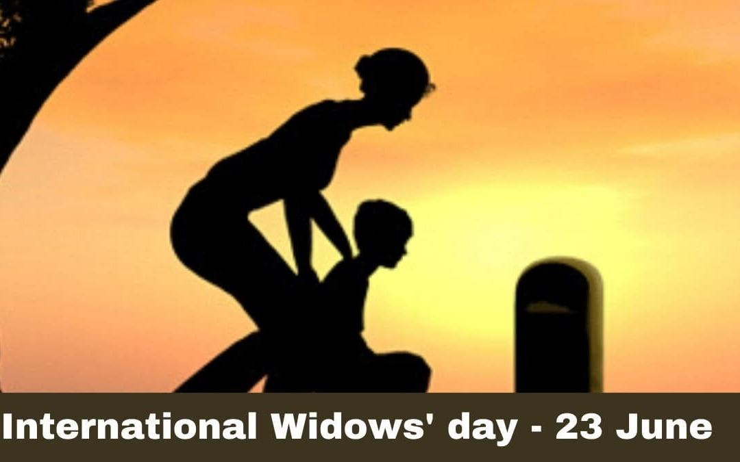 International Widows Day – June 23, 2020