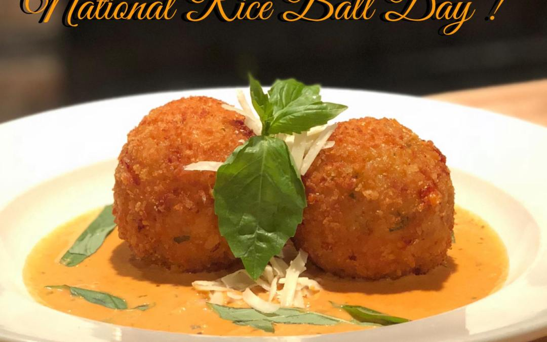 National Rice Ball Day – April 19, 2021