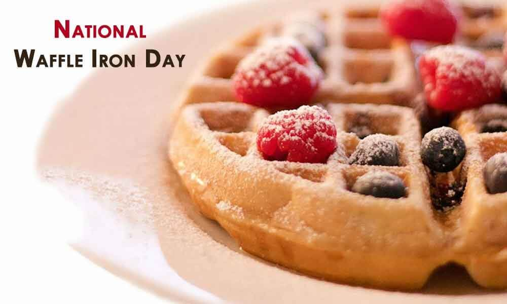 National Waffle Iron Day – June 29, 2020