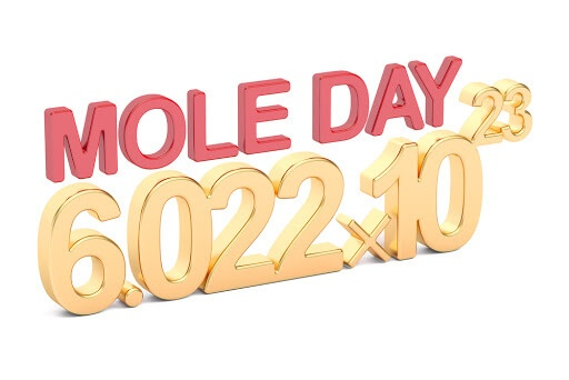 National Mole Day – October 23, 2020