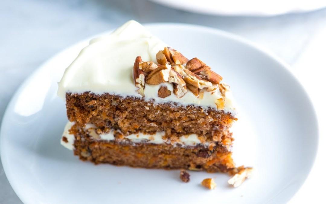 National Carrot Cake Day – February 3, 2021