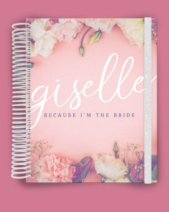Pink Flowers Wedding Planner