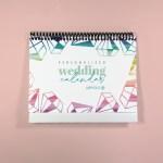 Wedding Desk Calendar