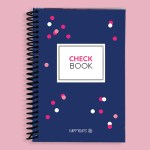 Blue Dots Check Book