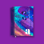 Purple Feather Pocket Planner 2022