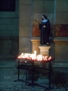 Mes ptits anges brillent parmi un de ces cierges <3