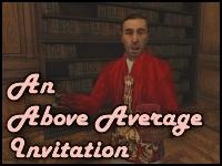 "An ""Above Average""Invitation"