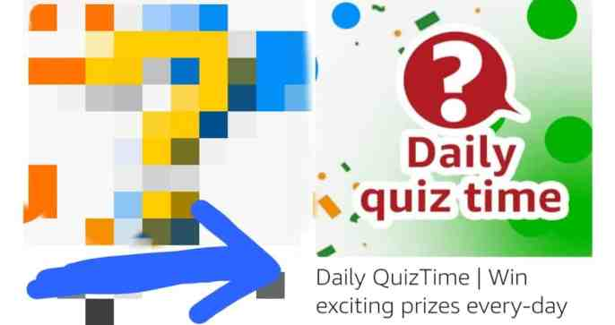 Amazon Daily Quiz Answers Today 11 August 2021 and win 15000