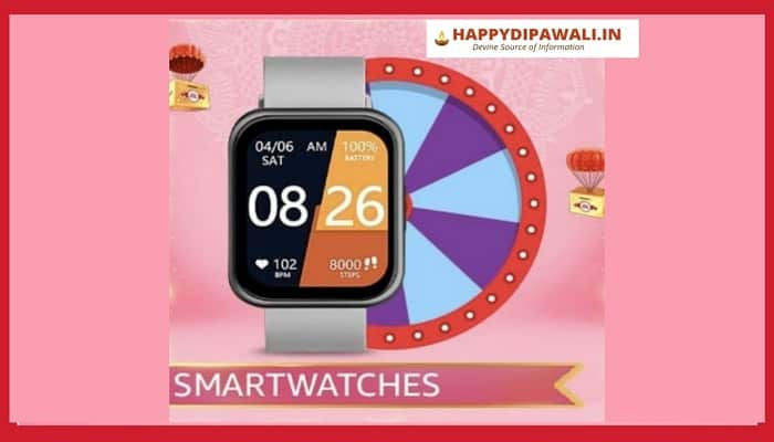 Amazon Smartwatches Spin And Win Quiz