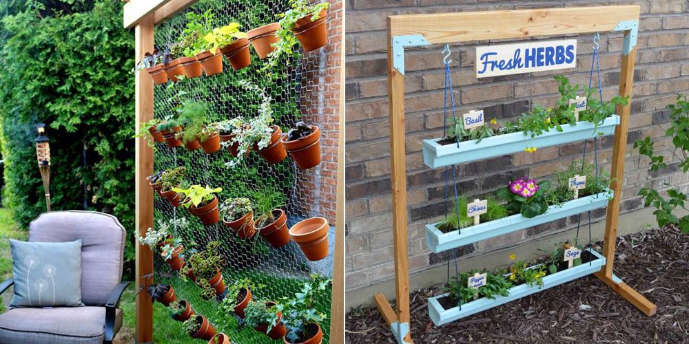 16 Creative DIY Vertical Garden Ideas