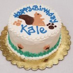 Dog Cake Squirrel Lover 4 Or 6 Happy Dog Barkery