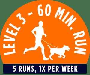 Level 1 - 60 minute running package - 5 Runs, 1x per week