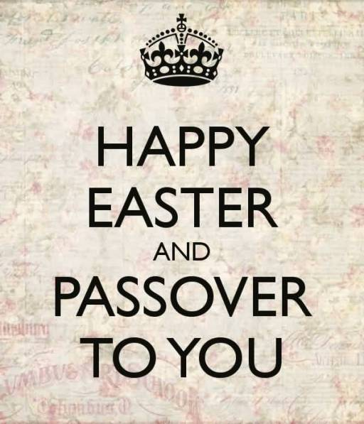 Happy Easter Passover