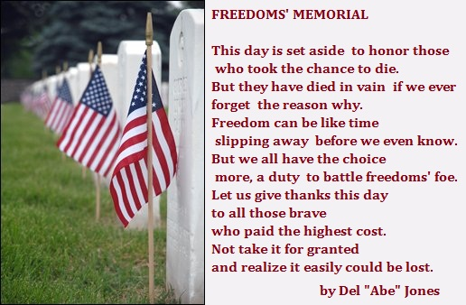 Memorial Day Poems