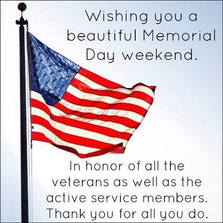 Happy Memorial Day Sayings