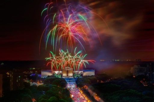 Awesome 4th of July firework images