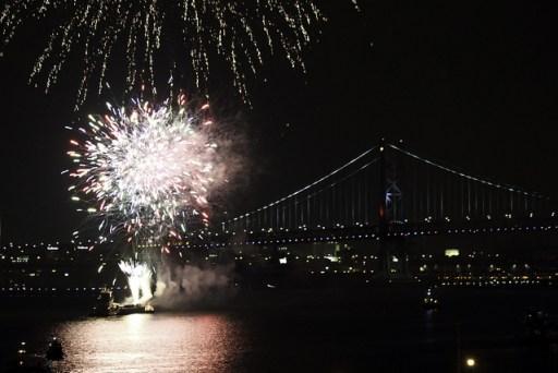 Celebrate in Philadelphia with fireworks