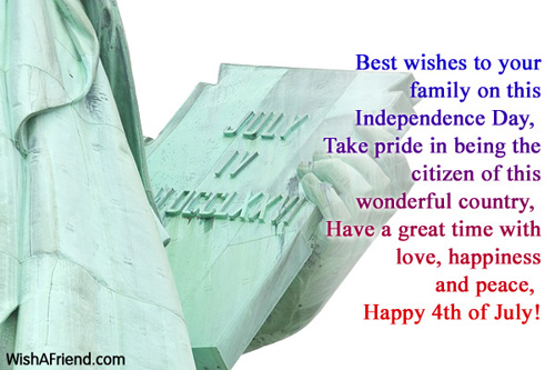 Fourth July Wishes Quotes And Saying Pictures