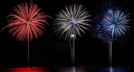 July 4th fireworks 2018