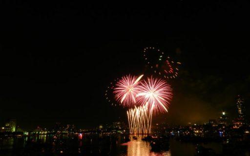 Macy's July 4th fireworks