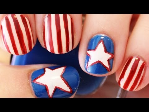 best fourth of July nail art designs 2018