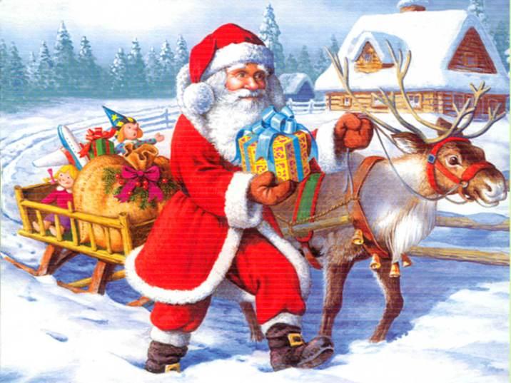 Santa Claus Pictures For Facebook