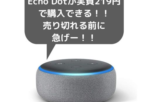 Echo Dot 第3世代が999円セール!amazon music unlimitedとセット販売中!【急げ】