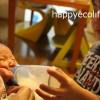 【生後0ヶ月&1ヶ月成長記録】母乳育児に悩む。乳首が切れて痛い。