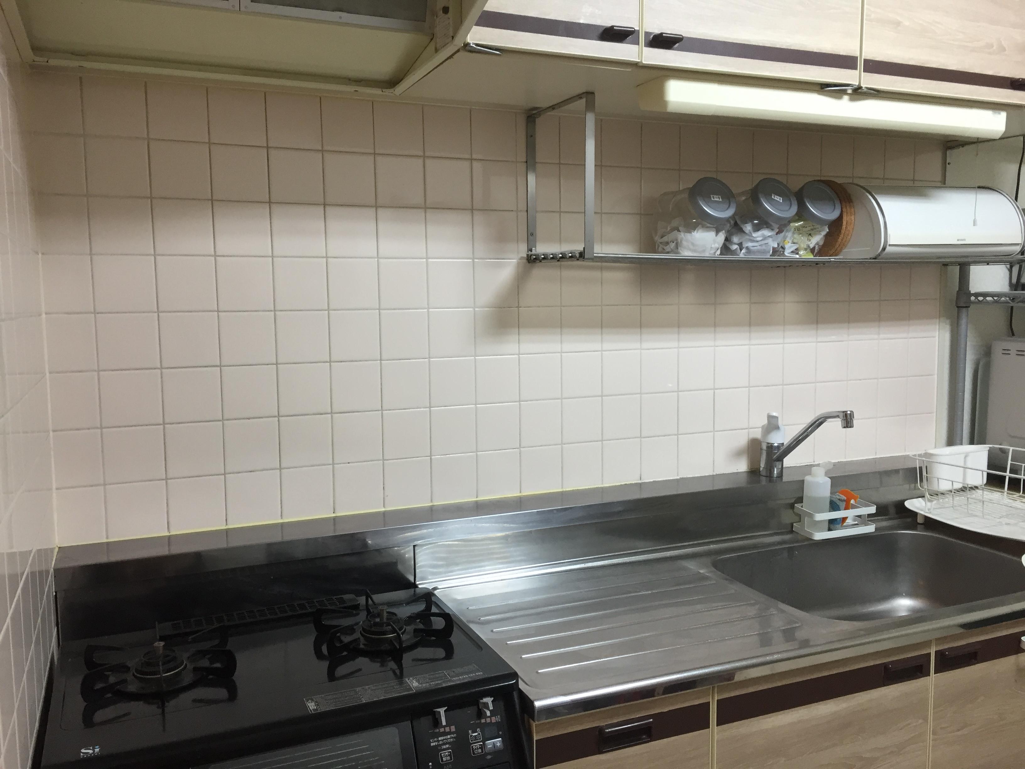 社宅のキッチン