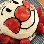 2歳の誕生日はアンパンマンドームケーキでお祝い!市販スポンジなら10分で作れる