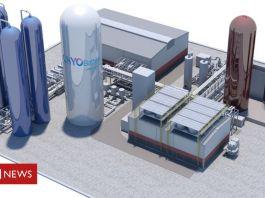 UK energy plant to use liquid air