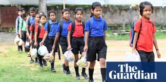 The Indian school where students pay for lessons with plastic waste