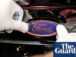 Ford plans for all cars sold in Europe to be electric by 2030