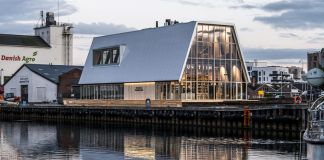 Denmark's Braunstein Taphouse building is reusable and recyclable