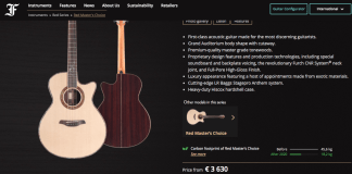 Some guitar makers in pursuit of sustainable manufacturing
