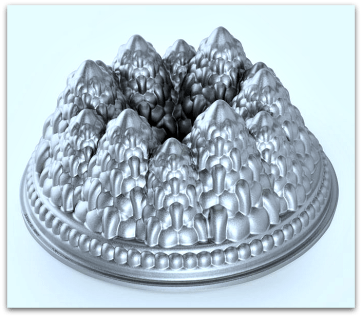 Nordic Ware Pine Forest Bundt Cake Pan