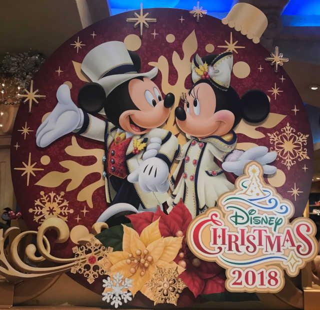 ディズニーシークリスマス ミッキー・ミニー
