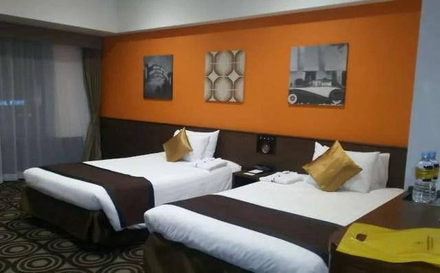 パークフロントホテル客室