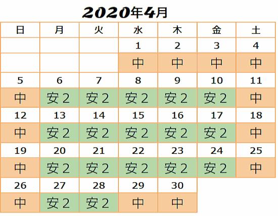 2020年4月USJ入場料金