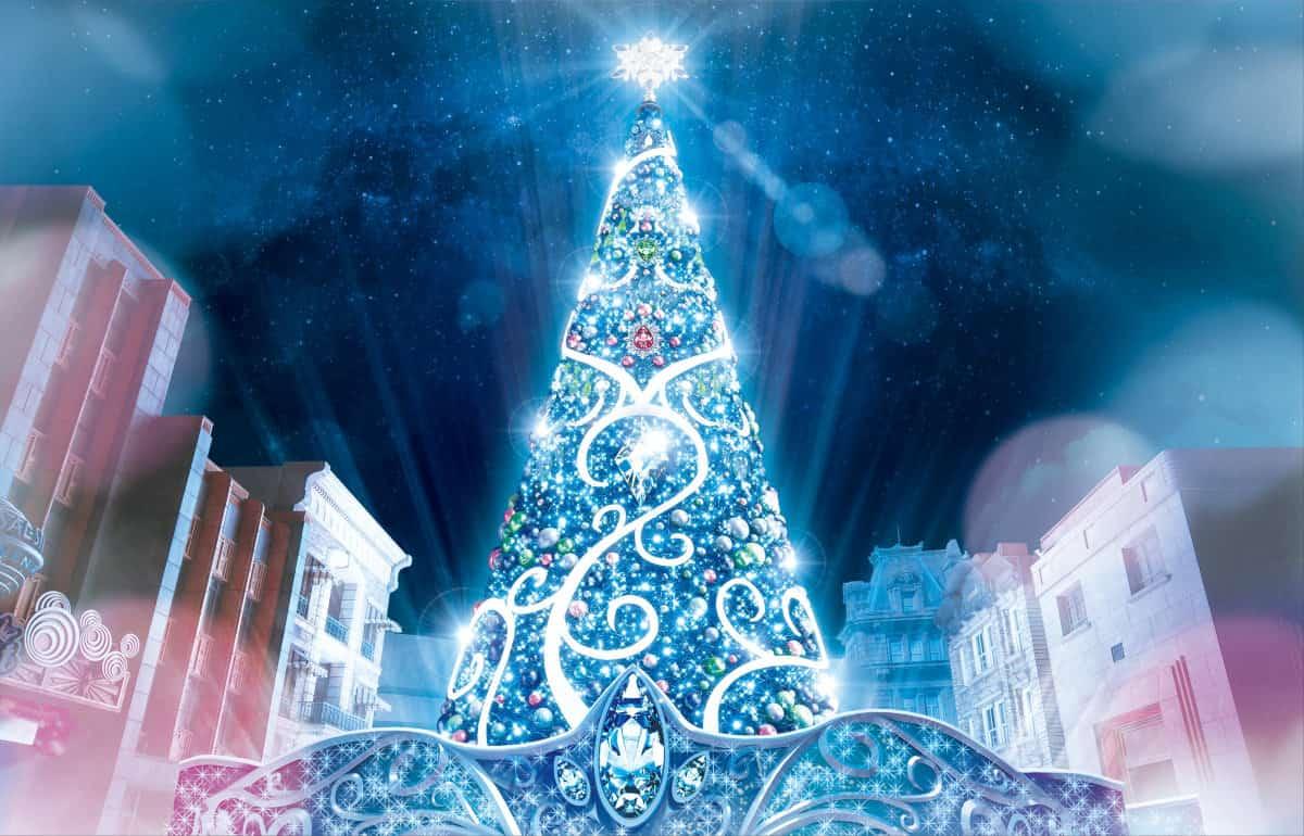 ユニバクリスマスツリー