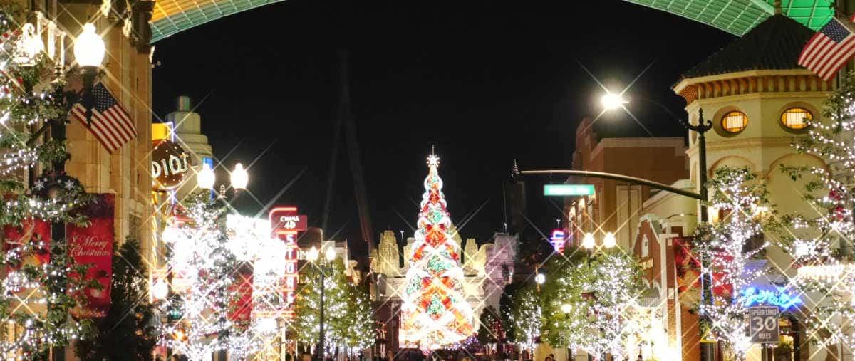 クリスマスツリー 入口