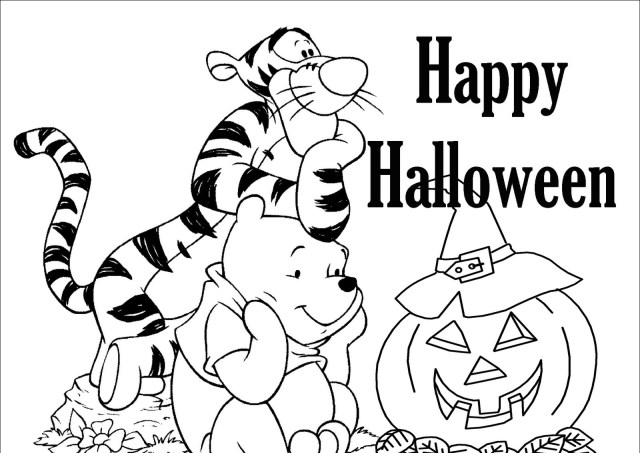24+ Best Halloween Coloring Pages 24 & Coloring Sheets