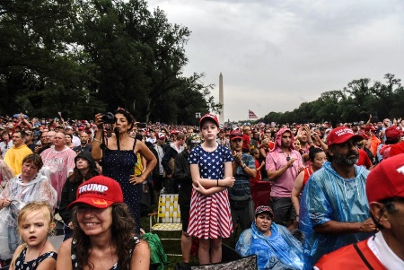 president trump 4th of july 2020