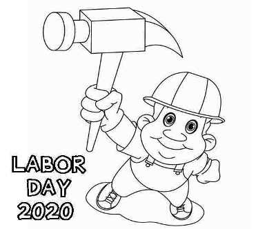 labor day 2020 coloring pages