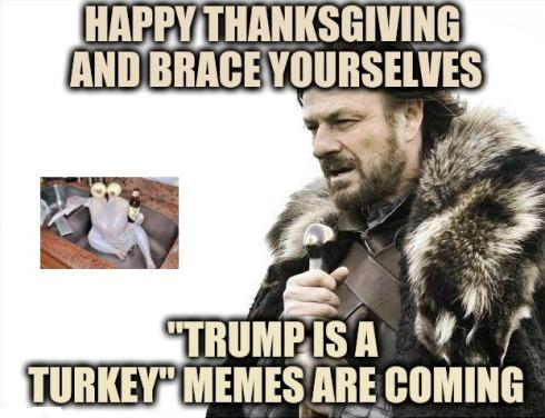 Happy Thanksgiving Day memes 2020