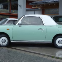 Is it old or is it new - Nissan Figaro